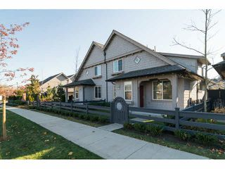 "Photo 1: 88 6450 187TH Street in Surrey: Cloverdale BC Townhouse for sale in ""MOSAIC"" (Cloverdale)  : MLS®# F1433536"
