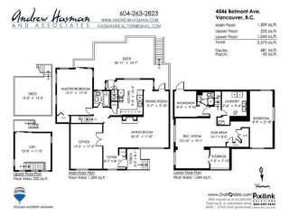 """Photo 7: 4546 BELMONT Avenue in Vancouver: Point Grey House for sale in """"Point Grey"""" (Vancouver West)  : MLS®# V1118801"""