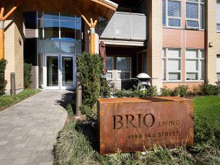 "Main Photo: 113 1166 54A Street in Delta: Tsawwassen Central Condo for sale in ""BRIO"" (Tsawwassen)  : MLS®# R2156301"