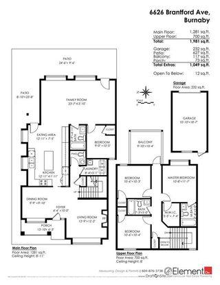 Photo 20: 6626 BRANTFORD Avenue in Burnaby: Upper Deer Lake House 1/2 Duplex for sale (Burnaby South)  : MLS®# R2191081