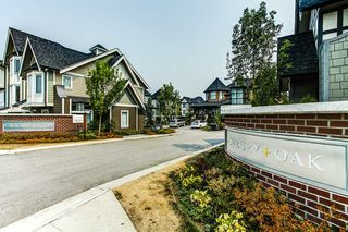 "Main Photo: 38 8138 204 Street in Langley: Willoughby Heights Townhouse for sale in ""ASHBURY OAK"" : MLS®# R2195288"
