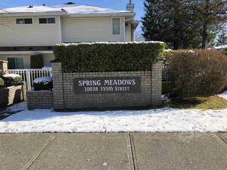 "Photo 1: 54 10038 155 Street in Surrey: Guildford Townhouse for sale in ""SPRING MEADOWS"" (North Surrey)  : MLS®# R2240810"