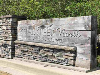 "Photo 18: 122 1480 SOUTHVIEW Street in Coquitlam: Burke Mountain Townhouse for sale in ""CEDAR CREEK NORTH"" : MLS®# R2262890"