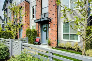 "Photo 1: 37 2325 RANGER Lane in Port Coquitlam: Riverwood Townhouse for sale in ""Freemont Blue"" : MLS®# R2271071"