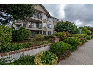 "Main Photo: 112 33401 MAYFAIR Avenue in Abbotsford: Central Abbotsford Condo for sale in ""Mayfair Gardens"" : MLS®# R2307730"