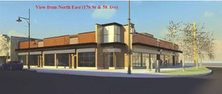Photo 1: 1 5795 176 Street in Surrey: Cloverdale BC Retail for lease (Cloverdale)  : MLS®# C8022781