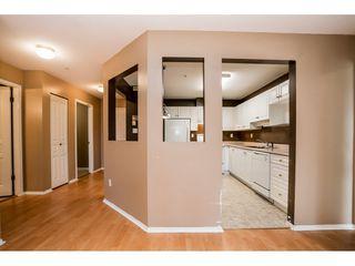 "Photo 6: 408 15895 84 Avenue in Surrey: Fleetwood Tynehead Condo for sale in ""Abbey Road"" : MLS®# R2384828"