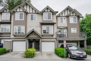 "Photo 1: 45 3368 MORREY Court in Burnaby: Sullivan Heights Townhouse for sale in ""STRATHMORE LANE"" (Burnaby North)  : MLS®# R2457677"