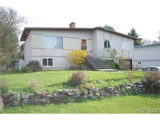 Photo 1: 4211 Panorama Drive in VICTORIA: SE High Quadra Single Family Detached for sale (Saanich East)  : MLS®# 335079