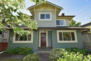 "Photo 1: 2236 E PENDER Street in Vancouver: Hastings House for sale in ""GRANDVIEW"" (Vancouver East)  : MLS®# R2073977"