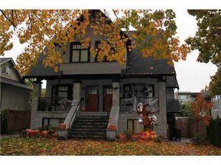 Photo 1: 2436 8TH Ave W: Kitsilano Home for sale ()  : MLS®# V935234