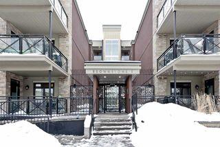 Photo 1: #110 10811 72 Avenue NW in Edmonton: Zone 15 Condo for sale : MLS®# E4129827