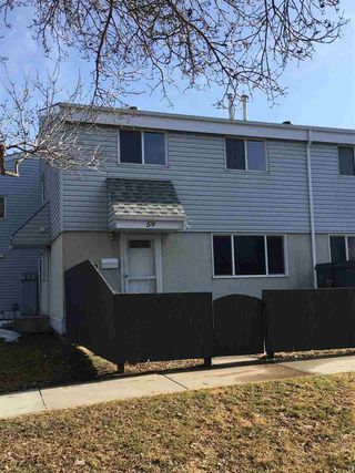 Main Photo: 59 MCLEOD Place in Edmonton: Zone 02 Townhouse for sale : MLS®# E4131001