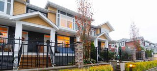 "Main Photo: 50 11461 236 Street in Maple Ridge: Cottonwood MR Townhouse for sale in ""TWO BIRDS"" : MLS®# R2323851"