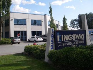 Main Photo: 410 1952 KINGSWAY Avenue in Port Coquitlam: Central Pt Coquitlam Industrial for sale : MLS®# C8022542