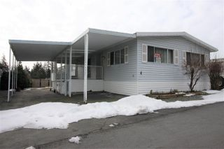 "Photo 1: 4 27111 0 Avenue in Langley: Aldergrove Langley Manufactured Home for sale in ""Pioneer Park"" : MLS®# R2345166"