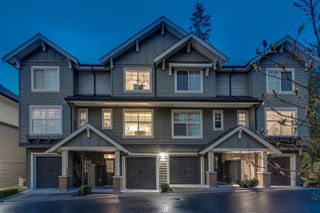 "Photo 1: 17 3470 HIGHLAND Drive in Coquitlam: Burke Mountain Townhouse for sale in ""BRIDLEWOOD"" : MLS®# R2355700"