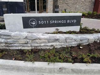 "Photo 1: 611 5011 SPRINGS Boulevard in Tsawwassen: Cliff Drive Condo for sale in ""TSAWWASSEN SPRINGS"" : MLS®# R2357291"