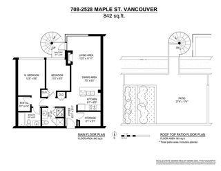 Photo 20: 708 2528 MAPLE Street in Vancouver: Kitsilano Condo for sale (Vancouver West)  : MLS®# R2373585