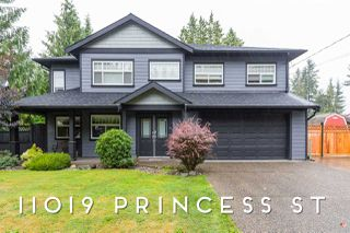 Photo 1: 11019 PRINCESS Street in Maple Ridge: Southwest Maple Ridge House for sale : MLS®# R2410766