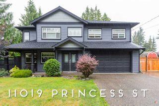 Main Photo: 11019 PRINCESS Street in Maple Ridge: Southwest Maple Ridge House for sale : MLS®# R2410766