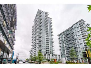 "Photo 1: 1306 258 NELSON'S Court in New Westminster: Sapperton Condo for sale in ""THE COLUMBIA AT BREWERY DISTRICT"" : MLS®# R2472326"