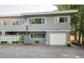Main Photo: 3628 GREENTREE Lane in North Vancouver: Edgemont House 1/2 Duplex for sale : MLS®# V1090905
