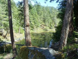 "Photo 1: LOT 2 CANOE ROAD in Pender Harbour: Pender Harbour Egmont Land for sale in ""LAZY ACRES"" (Sunshine Coast)  : MLS®# V1132173"