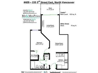 "Photo 16: 409 155 E 3RD Street in North Vancouver: Lower Lonsdale Condo for sale in ""THE SOLANO"" : MLS®# V1143271"