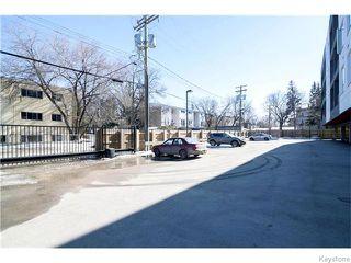 Photo 19: 155 Sherbrook Street in Winnipeg: West End / Wolseley Condominium for sale (West Winnipeg)  : MLS®# 1604815