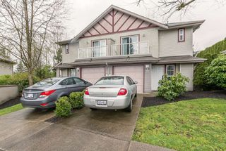"Main Photo: 26 11229 232 Street in Maple Ridge: East Central Townhouse  in ""FOXRIDGE ESTATES"" : MLS®# R2046391"