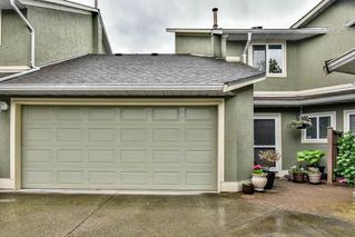 "Photo 1: 54 16061 85 Avenue in Surrey: Fleetwood Tynehead Townhouse for sale in ""Parc Seville"" : MLS®# R2165438"