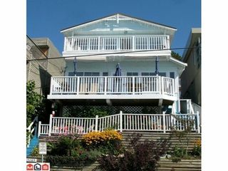 Photo 1: 15089 MARINE Drive in South Surrey White Rock: Home for sale : MLS®# F1214396