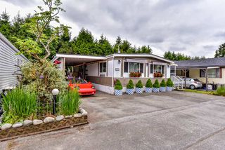 """Photo 1: 277 201 CAYER Street in Coquitlam: Maillardville Manufactured Home for sale in """"WILDWOOD PARK"""" : MLS®# R2269026"""