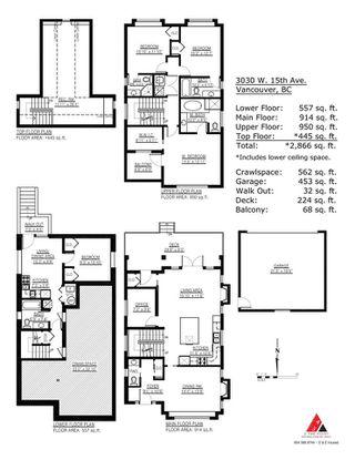 "Photo 20: 3030 W 15TH Avenue in Vancouver: Kitsilano House for sale in ""KITSILANO"" (Vancouver West)  : MLS®# R2307047"