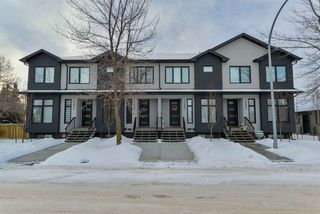 Photo 1: 15005 108 Avenue NW in Edmonton: Zone 21 Townhouse for sale : MLS®# E4140180