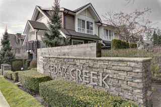 "Main Photo: 145 1460 SOUTHVIEW Street in Coquitlam: Burke Mountain Townhouse for sale in ""CEDAR CREEK"" : MLS®# R2338473"