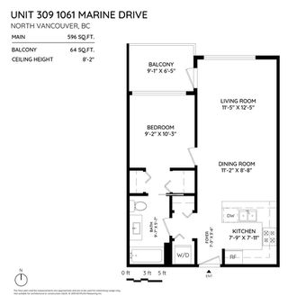 "Photo 15: 309 1061 MARINE Drive in North Vancouver: Norgate Condo for sale in ""X61"" : MLS®# R2393875"
