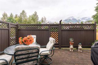 "Photo 38: 46 40750 TANTALUS Road in Squamish: Garibaldi Estates Townhouse for sale in ""Meighan Creek"" : MLS®# R2489735"