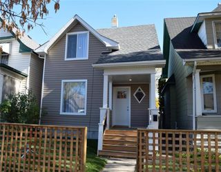 Photo 1: 683 Ashburn Street in Winnipeg: West End Residential for sale (5C)  : MLS®# 202025763