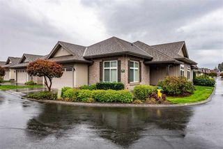 "Photo 1: 36 45752 STEVENSON Road in Chilliwack: Sardis East Vedder Rd House for sale in ""Higginson Villas"" (Sardis)  : MLS®# R2524444"