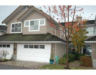 """Photo 1: 44 3555 WESTMINSTER HY in Richmond: Terra Nova Townhouse for sale in """"SONOMA"""" : MLS®# V562177"""