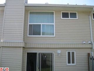 "Photo 8: 292 32550 MACLURE Road in Abbotsford: Abbotsford West Townhouse for sale in ""CLEARBROOK VILLAGE"" : MLS®# F1113377"