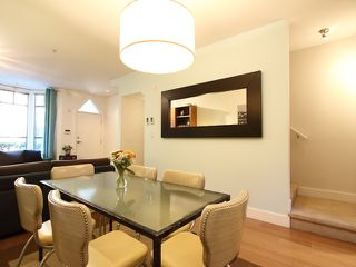 """Photo 6: 854 W 6TH Avenue in Vancouver: Fairview VW Townhouse for sale in """"BOXWOOD GREEN"""" (Vancouver West)  : MLS®# V904480"""