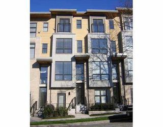"""Photo 1: 3808 COMMERCIAL DR in Vancouver: Victoria VE Townhouse for sale in """"THE BRIX"""" (Vancouver East)  : MLS®# V580891"""