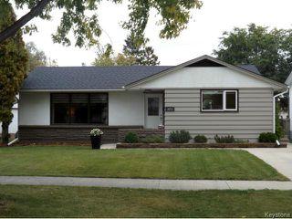 Photo 1: 425 Greenacre Boulevard in WINNIPEG: Westwood / Crestview Residential for sale (West Winnipeg)  : MLS®# 1321784