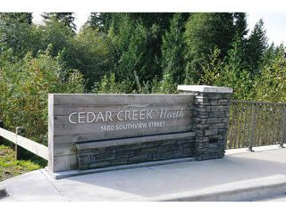 "Photo 14: 102 1480 SOUTHVIEW Street in Coquitlam: Burke Mountain Townhouse for sale in ""CEDAR CREEK NORTH"" : MLS®# V1088331"
