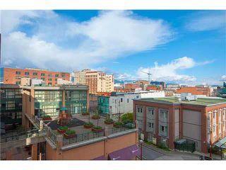 """Photo 9: 605 550 TAYLOR Street in Vancouver: Downtown VW Condo for sale in """"THE TAYLOR"""" (Vancouver West)  : MLS®# V1115432"""