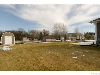 Photo 18: 345 Hatfield Avenue in Headingley: Headingley South Residential for sale (South Winnipeg)  : MLS®# 1605782