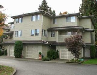 """Photo 1: 1386 LINCOLN Drive in Port Coquitlam: Oxford Heights Townhouse for sale in """"MOUNTAIN PARK VILLAGE"""" : MLS®# V619527"""